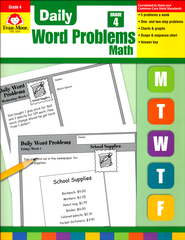Daily Word Problems, Grade 4   -              By: Homeschool