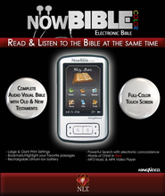 NowBible Color, NLT--Audio/Video Bible Reader (4GB)  -     Narrated By: Todd Busteed     By: Narrated by Todd Busteed