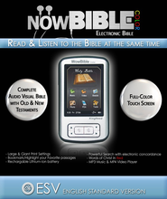 NowBible Color, ESV--Audio/Video Bible Reader (4GB)  -     Narrated By: David Heath     By: Narrated by David Heath