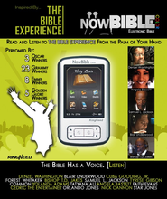 NowBible Color, TNIV The Bible Experience--Audio/Video Bible Reader (4 GB)  -