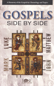 The Gospels Side-by-Side pamphlet  -