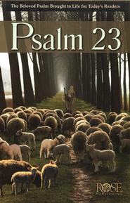Psalm 23 pamphlet  -