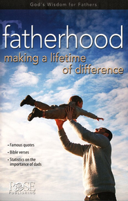 Fatherhood: Making a Lifetime of Difference, Pamphlet  -