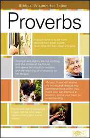 Proverbs: Biblical Wisdom for Today, Pamphlet   -
