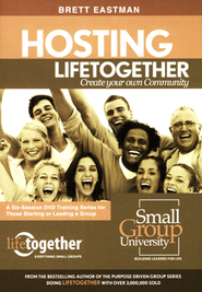 Hosting Lifetogether Group Leaders DVD Set   -     By: Brett Eastman