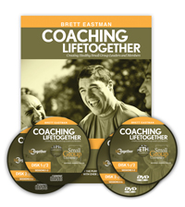 Coaching Lifetogether Group Leaders Kit DVD Set and Guidebook  -     By: Brett Eastman