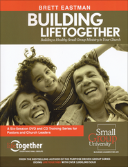 Building Lifetogether in Your Church Ministry 170 Page Handbook  -     By: Brett Eastman