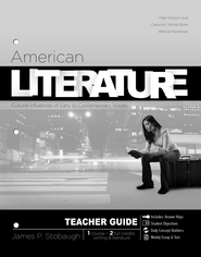 American Literature (Teacher's Edition) - eBook  -     By: James Stobaugh