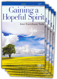 Gaining a Hopeful Spirit Pamphlet - 5 Pack  -              By: Joni Eareckson Tada