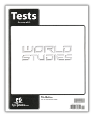 BJU World Studies Grade 7 Test Pack, Third Edition    -