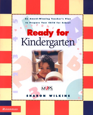 Ready for Kindergarten   -              By: Sharon Wilkins