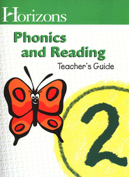 Horizons Phonics Grade 2 -- Teacher's Guide   -
