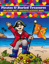 Pirates & Buried Treasures Coloring Book   -