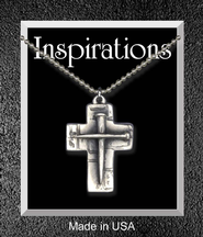 Nail Cross Pendant  -