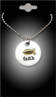 Fish Faith Pendant  -