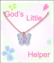 Butterfly Cross Necklace  -