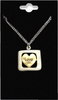 Love Heart Necklace  -