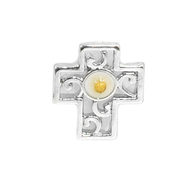 Mustard Seed Lapel Pin Cross  -