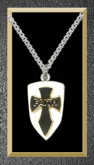 Shield Faith Pendant  -