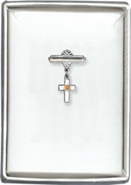 Mustard Seed Cross Pin  -