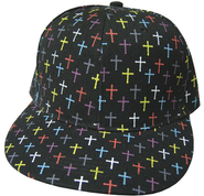 Colorful Crosses Cap  -