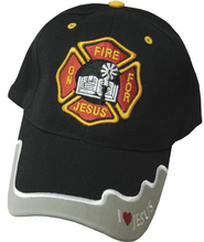 On Fire for Jesus Cap Black  -