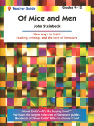 Of Mice and Men, Novel Units Teacher's Guide, Grades 9-12   -     By: John Steinbeck