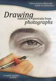 Drawing Realistic Portraits from Photographs DVD   -              By: Ethan Ledden