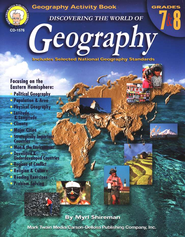 Discovering the World of Geography--Grades 7 to 8   -              By: Myrl Shireman
