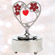 Metal Music Box, Heart  -