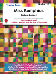 Miss Rumphius, Novel Units Teacher's Guide, Grades 1-2   -     By: Barbara Cooney
