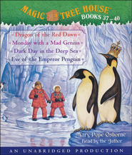 Magic Tree House: Books 37-40 Unabridged Audiobook on CD  -              By: Mary Pope Osborne