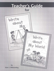 Write About Me & Write About My World Teacher's Guide   -