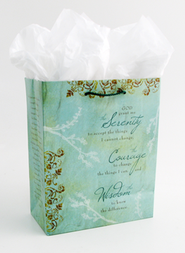Serenity Prayer Gift Bag, Medium  -