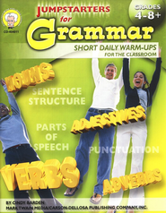 Jumpstarters for Grammar (4-8+)  -     By: Cindy Barden