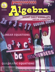 Jumpstarters for Algebra (7+)  -     By: Wendi Silvano