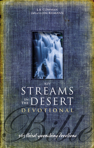 NIV Streams in the Desert Bible: 365 Thirst-Quenching Devotions - eBook  -     Edited By: L.B.E. Cowman, Jim Reimann