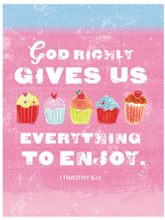 God Richly Gives Us Notes, Package of 10  -