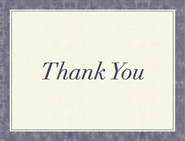 Glory Thank You Notes, Package of 10  -