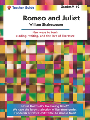 Romeo and Juliet, Novel Units Teacher's Guide, Grades 9-12   -     By: William Shakespeare