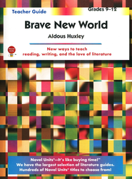 Brave New World, Novel Units Teacher's Guide, Grades 9-12   -     By: Aldous Huxley
