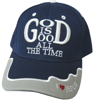 God Is God Cap Navy  -