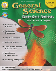 General Science Daily Skill Builders, Grades 5-8   -     By: Wendi Silvano