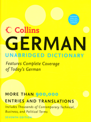 Collins German Unabridged Dictionary 7th Edition   -              By: HarperCollins UK