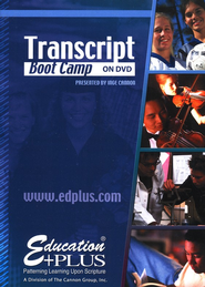 Transcript Boot Camp on DVD Seminar   -     By: Inge Cannon