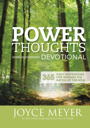Power Thoughts Devotional: 365 Daily Inspirations for Winning the Battle of the Mind - eBook  -     By: Joyce Meyer