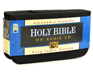 KJV Bible        - Audio Bible on CD  -              Narrated By: Alexander Scourby                   By: Narrated by Alexander Scourby