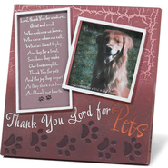 Thank You Lord for Pets Photo Frame  -