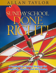 Sunday School Done Right Participant Book  -     By: Allan Taylor