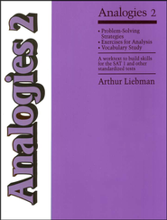 Analogies 2   -              By: Arthur Liebman